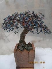 Эсклюзивные цветущие деревья из бисера!  - 2.