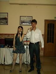 Тамада.Ведущие на свадьбе, юбилеи.Живой голос певцов
