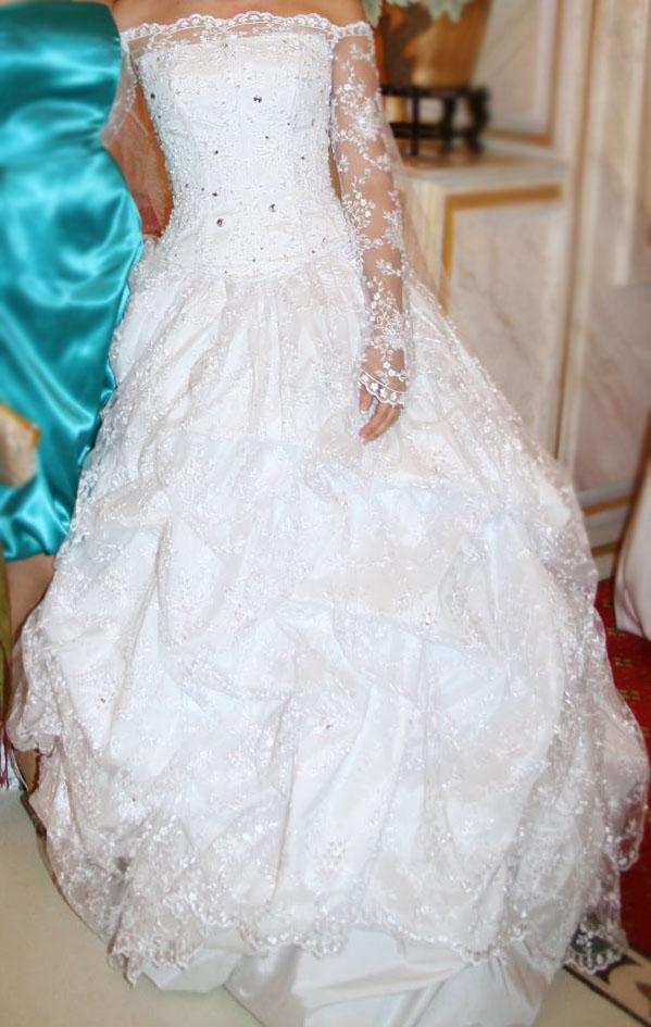 Продам пышное платье невесты - 1.