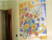 Изготовление панно из мозаики,  миксов,  бордюров,  растяжек