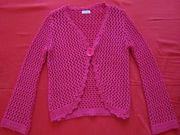 Джемпер вязанный. цвет малиновый,  р-р 46-48 / пр Турция.