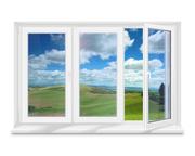 Окна,  двери,  виражи в Алматы