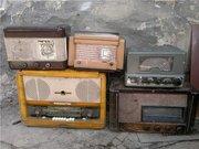 Куплю ламповые приемники ,  телевизоры,  радиолы,  патефоны,  радиодетали.