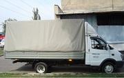 Перевозка грузов из Алматы в Астану. Газель удлиненная,  высокая.