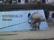 Профессиональный монтаж балконного козырька в алматы