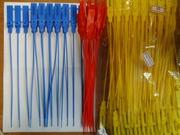 Пластиковые пломбы одноразовые номерные  Алматы