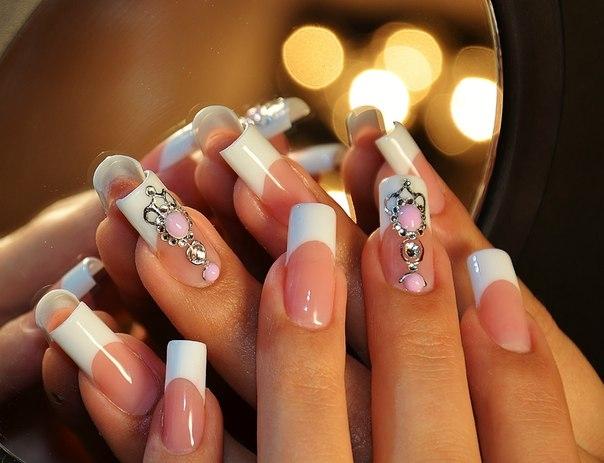 Модные дизайн на ногтях