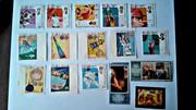 почтовые марки 70-х,  80-х годов