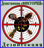 Дезостанция«ВИКТОРИЯ»,  дезинсекция (уничтожение насекомых) в Алматы.