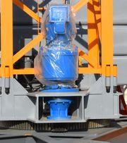 Электродвигатель поворота башенного крана
