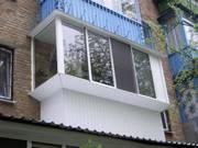 Утепление и обшивка балкона сайдингом в Алматы