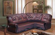 Перетяжка,  обивка угловых диванов