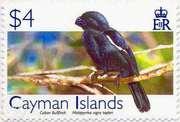 Марки Каймановых островов (Inga,  Cuban Bullfinch)