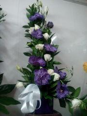 букет-композиция с орхидеями,  доставка по алматы
