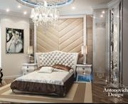 Дизайн спальни ар деко