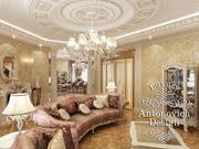 Дизайн дома Алматы в стиле неоклассика