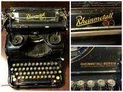 Переносная печатная/пишущая машинка