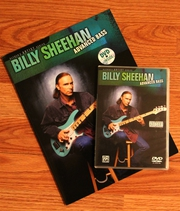 Обучающее видео Billy Sheehan - Advanced Bass (DVD + книжка)