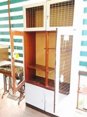 Клетка-шкаф для хорьков,  кроликов и грызунов