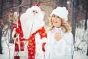 Ведущий,  тамада на новогодний вечер + Дед мороз и Снегурочка