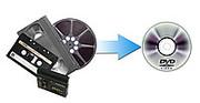 перезапись с кассет на DVD , оцифровка