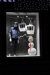 Дизайн витрин,  Новогоднее оформление интерьера кафе,  ресторана!