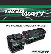 Аккумуляторы GIGAWATT в Алматы купить 8(777)277-48-51