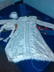 Новогодний костюм Снегурочки.