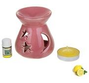 Набор 3 в 1 арома лампа свечка масло 46445