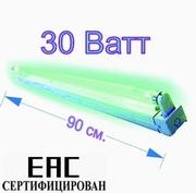 Кварцевая ультрафиолетовая бактерицидная лампа 30 Ватт. Сертификат