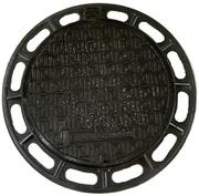 Канализационный люк из высокопрочного чугунна В125,  ГОСТ 3634-99