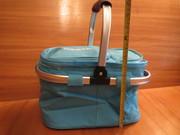 Вместительная Сумка-термос с набором для пикника