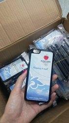 Нанесение на чехлы для айфон 6 имен,  фотографий в Алматы.