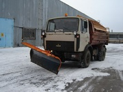 Отвал передний НО-80 на МАЗ 5516