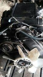 Двигатель  1KZ  на Toyota Land Cruiser Prado 95
