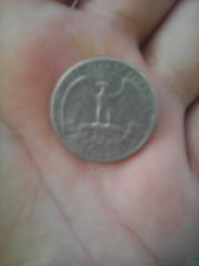 Quarter dollar 1972г