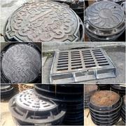 Люки чугунные канализационные Тип С