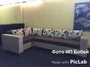 Угловой диван на ортопедической пружине