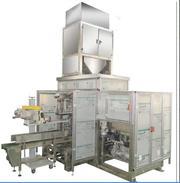 Автомат для упаковки сыпучих продуктов готовые мешки 022.50.01