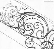 решетки,  ворота,  заборы,  мангалы,  скамейки
