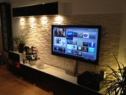 Навеска,  монтаж телевизоров на стену