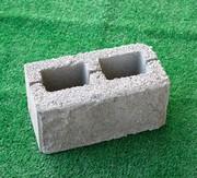 Сплитерный блок (рваный,  серый)