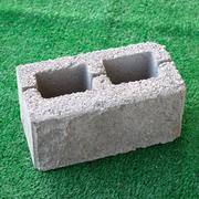 Сплитерный блок (рваный,  двухсторонний,  серый)