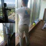 Снятие и установка штапиков на окна для монтажа оконной пленки