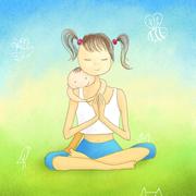 Кундалини йога для мам с малышами.