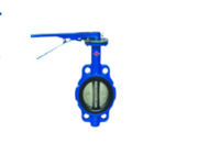 Затворы поворотные дисковые межфланцевые ручные «бабочка» (Ру-16) Т