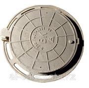 Люк чугунный С250,  тип-Т,  круглый с запорным устройством,  ВК,  ГТС,  Қаз