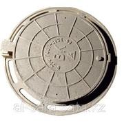 Люк чугунный С250,  тип-ТМ,  круглый с запорным устройством,  ВК,  ГТС