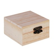 Шкатулка для росписи квадратная деревянная 47031