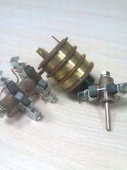 Кольцевой токосъемник токосборник тк3-5 в сборе со щетками и щеткодерж